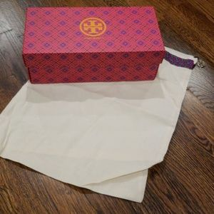 Tory Burch Shoebox & Dustbag